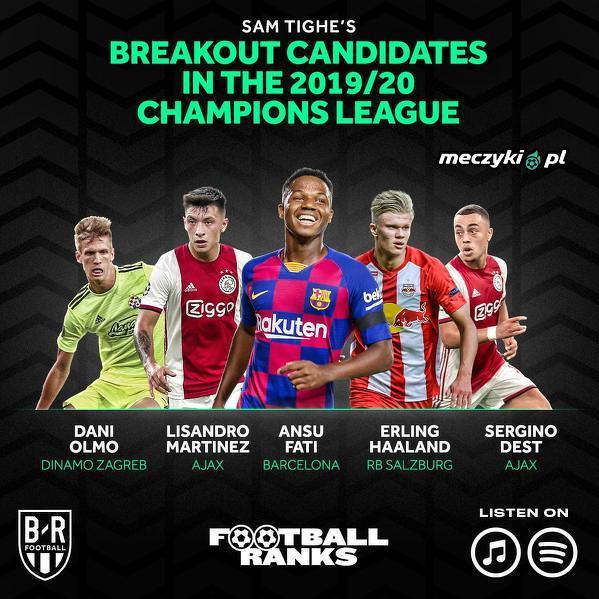 Który z nich będzie błyszczał w Lidze Mistrzów w tym sezonie?