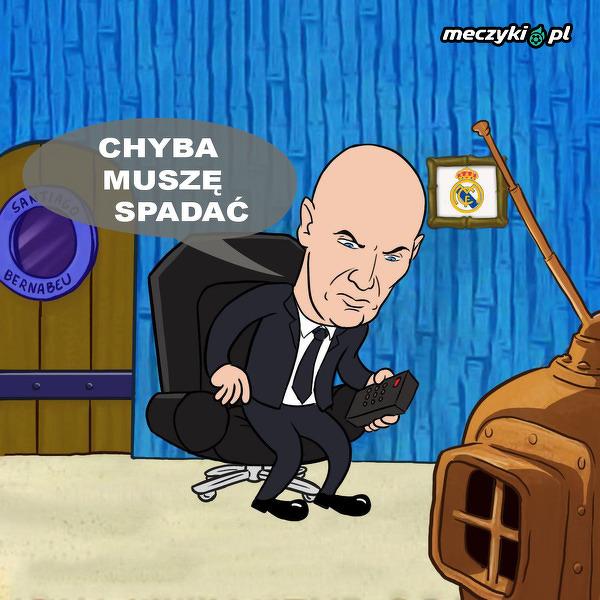 Trudne chwile przed Zidane'm