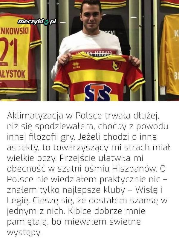 Jesus Imaz o swoich początkach w Polsce