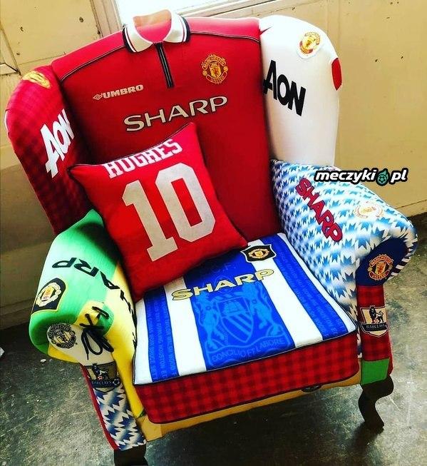 Fotel prawdziwego fana United