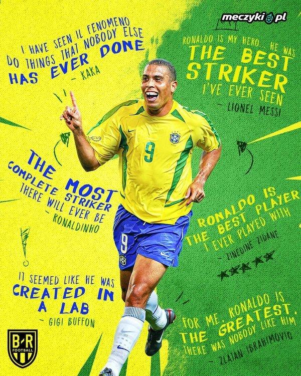 Ronaldo kończy dziś 43 lata