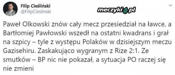 Sytuacja polskich zawodników w Gazisehir