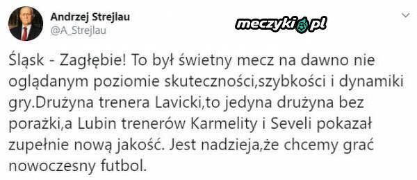 Andrzej Strejlau zachwycony Derbami Dolnego Śląska