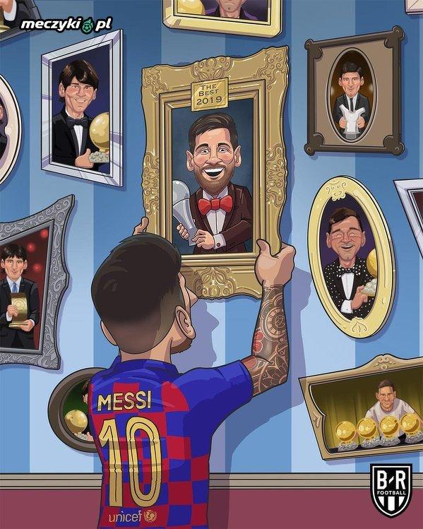 To pierwsza znacząca indywidualna nagroda Lionela Messiego od 2015 roku