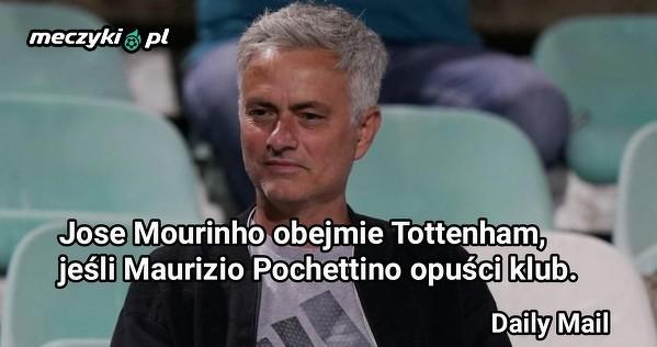 Jose Mourinho może objąć Tottenham