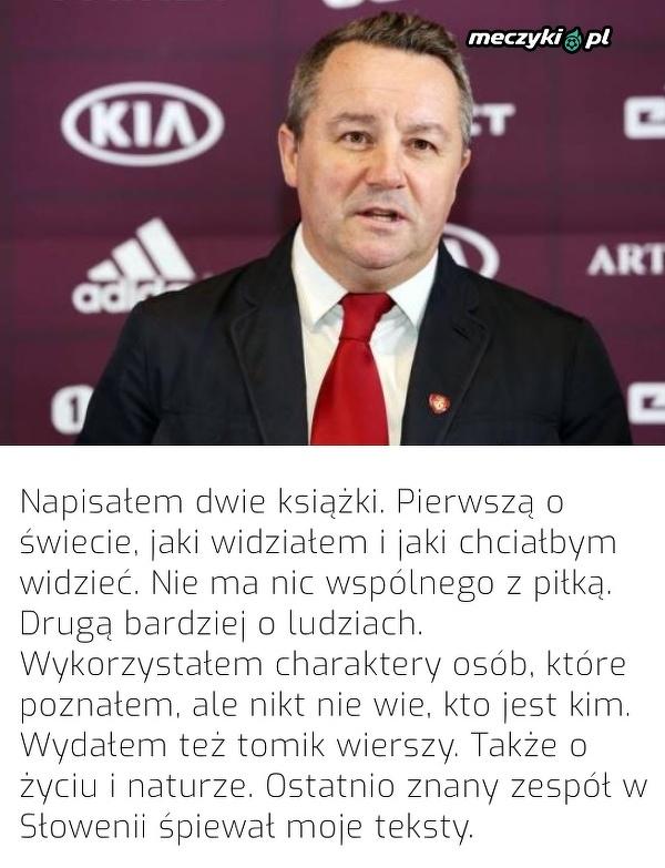 Nietypowa pasja trenera reprezentacji Łotwy