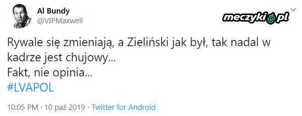 U Zielińskiego po staremu