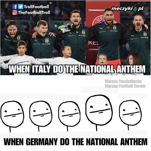Nie wszyscy solidnie podchodzą do śpiewania hymnu