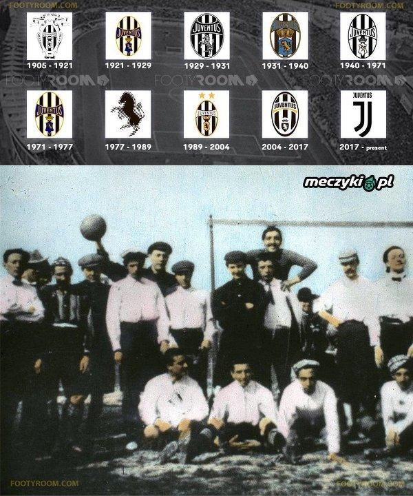 Tak zmieniał się Juventus na przestrzeni lat