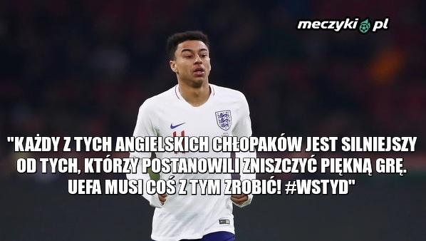 Jesse Lingard po meczu Anglii z Bułgarią