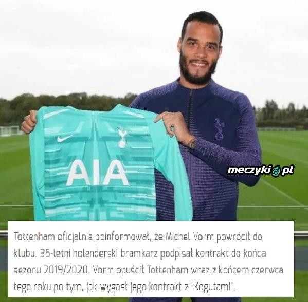 Vorm wrócił do Tottenhamu