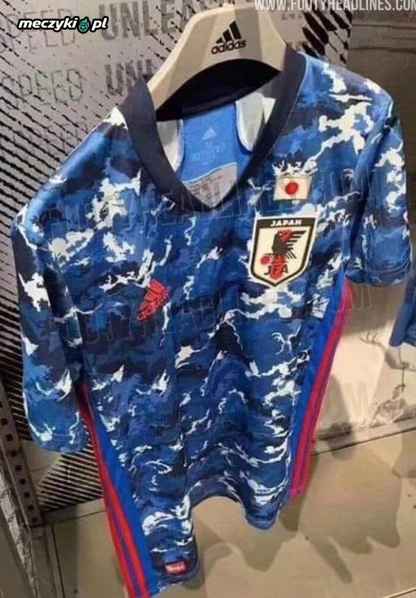 Tak ma wyglądać nowa koszulka reprezentacji Japonii