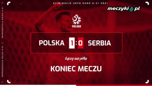 Reprezentacja Polski U-21 pokonała Serbię!