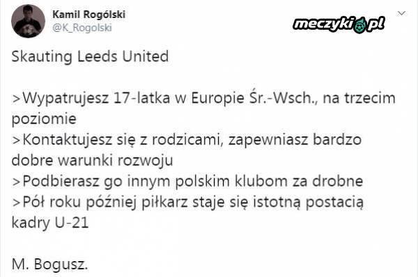 Leeds United ubiegło polskie kluby