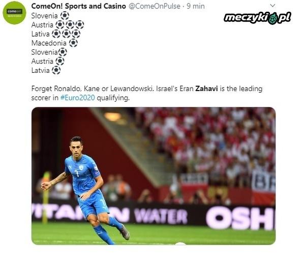 Zahavi strzelił 11. bramkę w tych eliminacjach! Izraelczyk to prawdziwy supersnajper