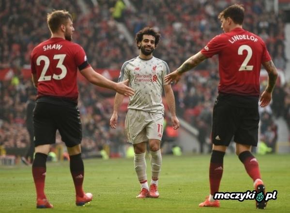 Salah jeszcze nigdy nie strzelił, ani nie asystował przeciwko Manchesterowi United