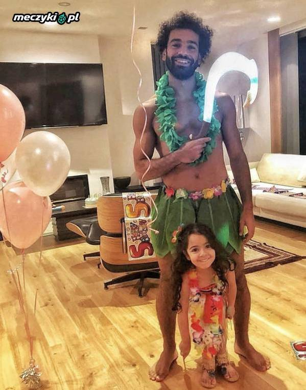 Salah zrobił imprezę urodzinową córce