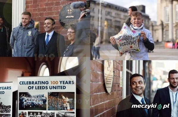 Leeds United świętuje 100. urodziny