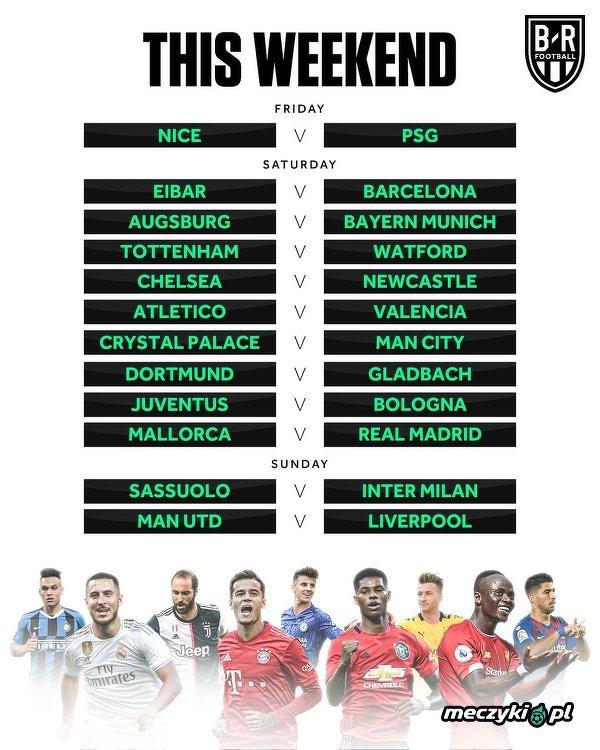 Najciekawsze mecze tego weekendu