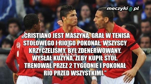 Evra opowiedział anegdotę o Ronaldo