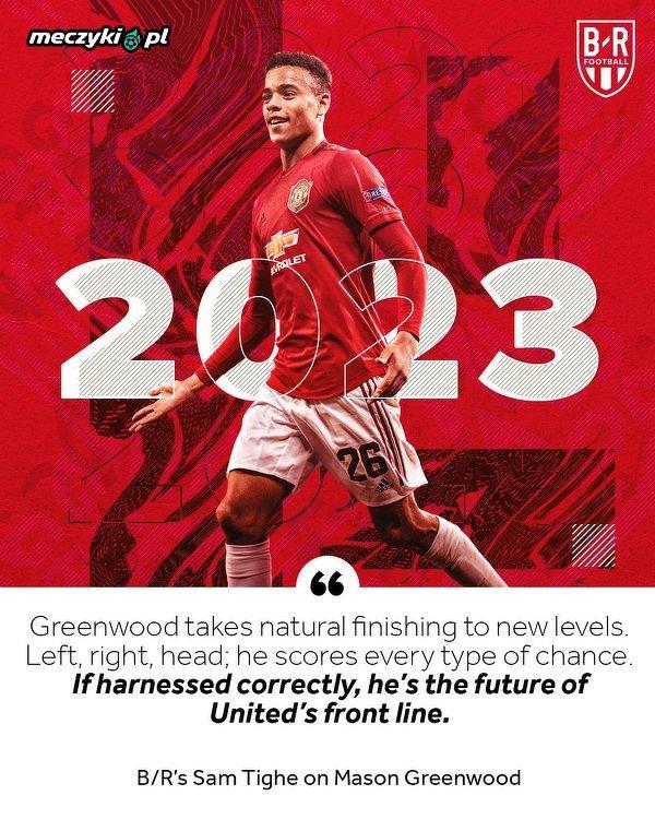 Mason Greenwood przedłużył kontrakt z Manchesterem United do 2023 roku