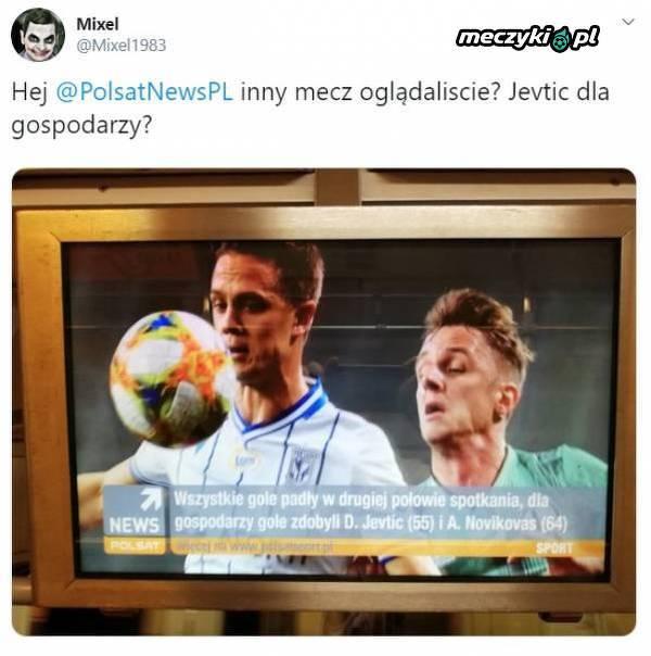 Według Polsatu Jevtić strzelił dla Legii