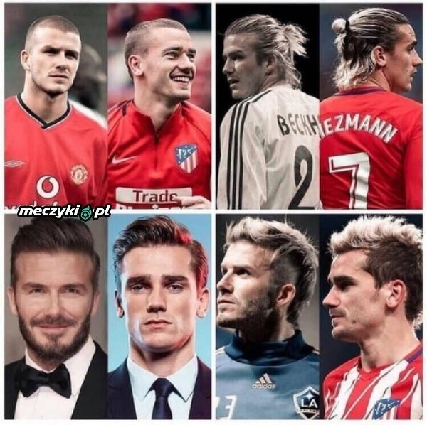 Griezmann jest fanem Beckhama