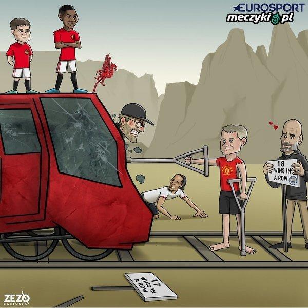 Czerwone Diabły zatrzymały rozpędzony Liverpool