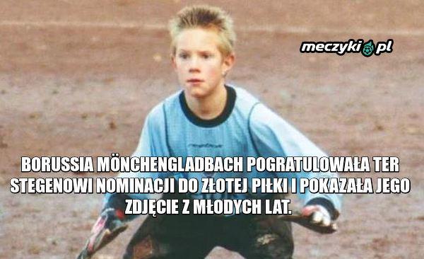 Młody Marc-Andre Ter Stegen