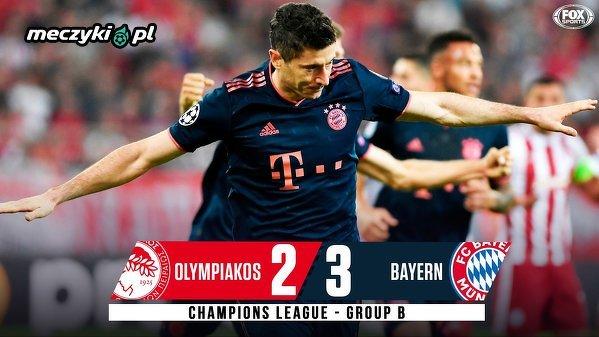 Bayern zwycięski, a Lewy z dubletem