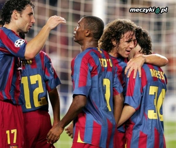 Wspomnienie pierwszej bramki Messiego w Lidze Mistrzów