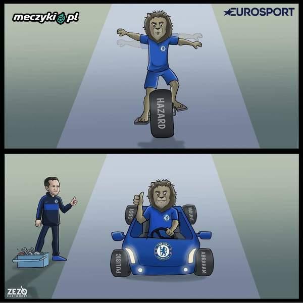 Chelsea nie polega juz tylko na jednym zawodniku