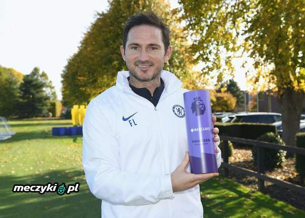 Frank Lampard z nagrodą Manager of the Month
