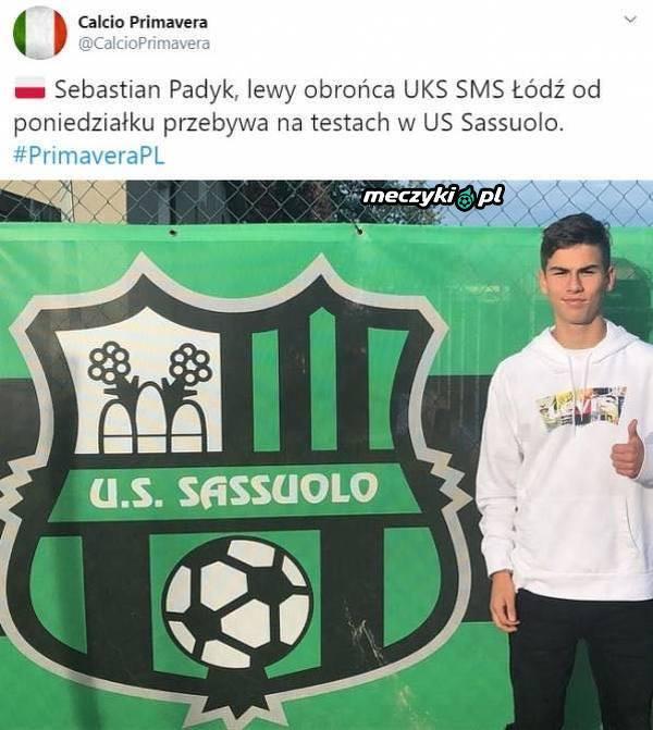 Polski talent blisko Sassuolo