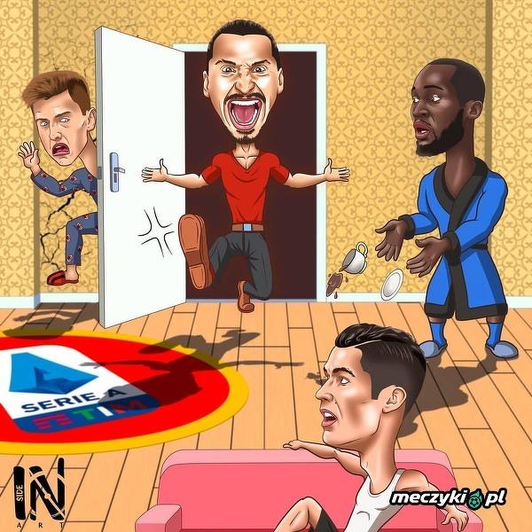 Zlatan już niedługo w Serie A?