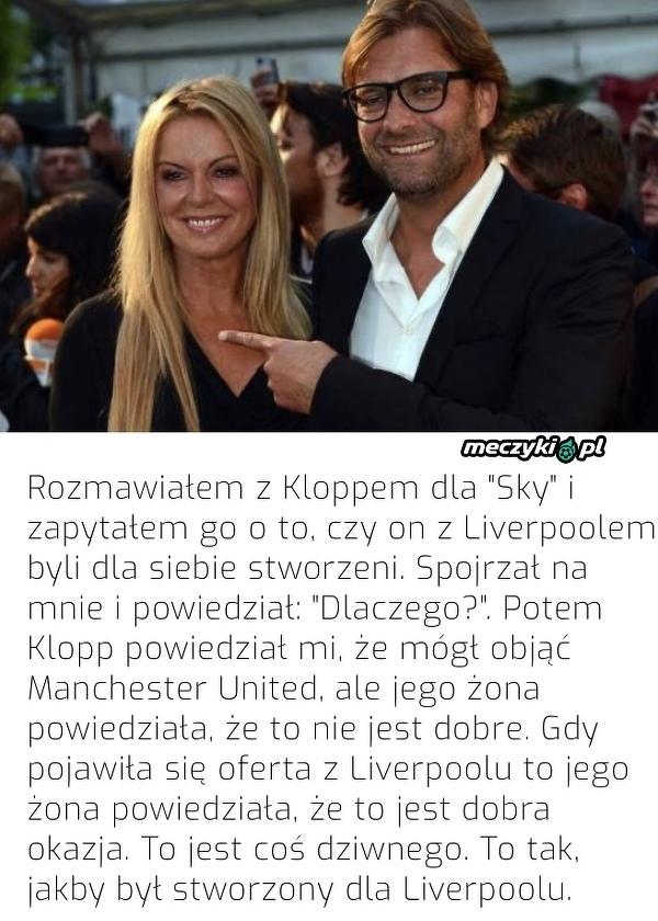 Żona Kloppa nie chciała, żeby trenował United