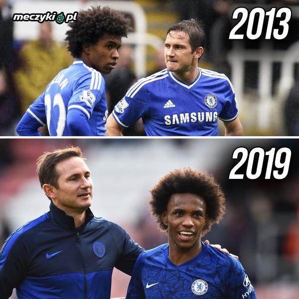 Lampard znowu się spotkał z Willianem w Chelsea, ale w innej roli