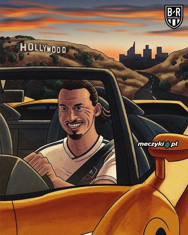 Zlatan potwierdza, że opuścił LA Galaxy