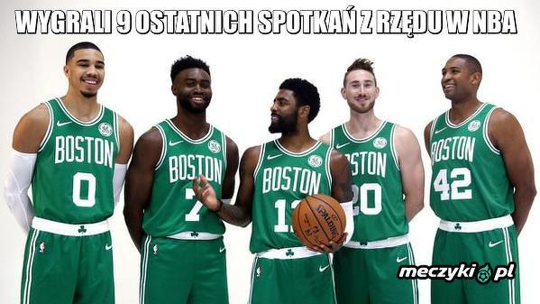 Świetna seria Boston Celtics