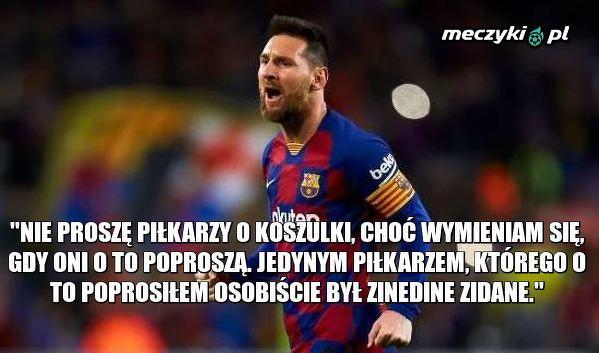 Jedyny piłkarz, którego Messi poprosił o wymianę koszulek