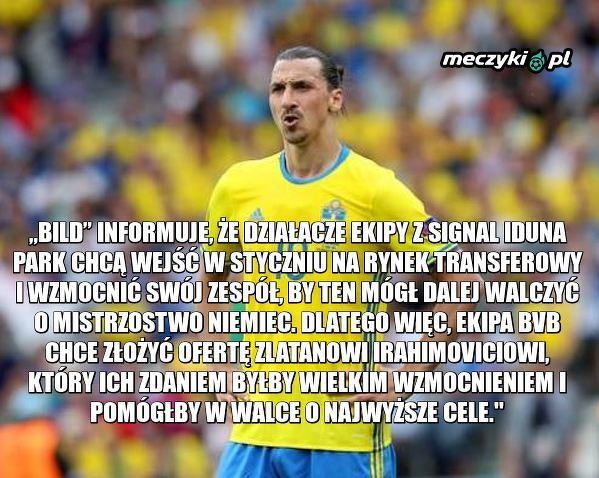 Ibrahimović na liście życzeń klubu z Bundesligi