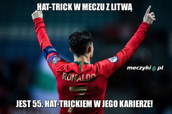 Król hat-tricków!