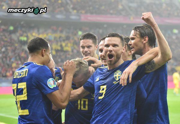 Jeśli Szwedzi utrzymają prowadzenie z Rumunią to awansują na Euro