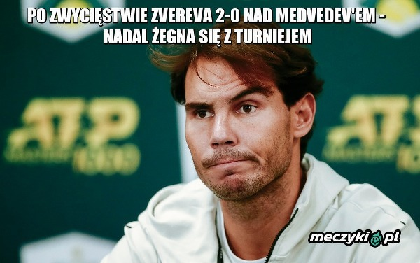 Nadal odpada z ATP World Tour Finals!