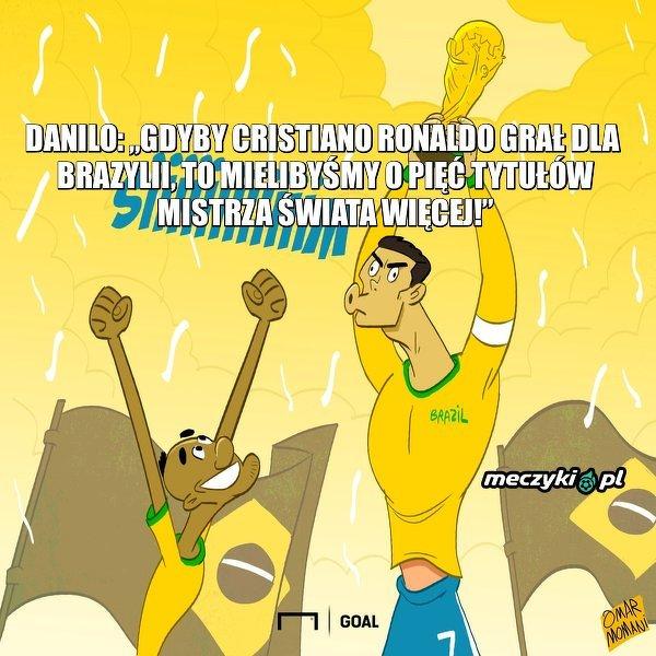 Danilo trochę odleciał