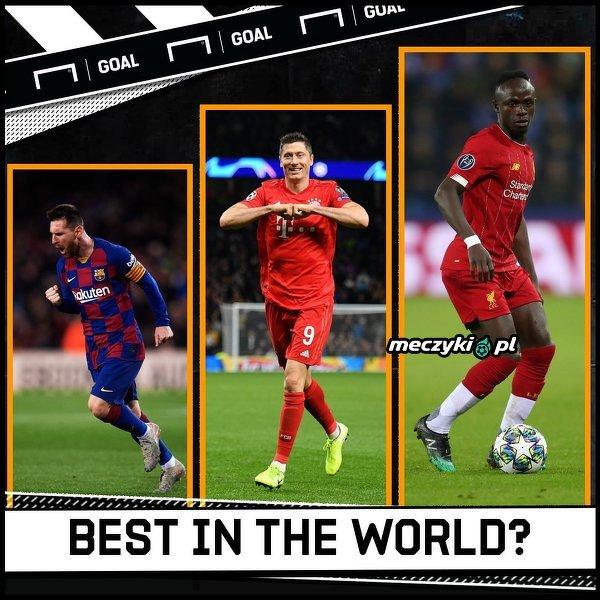 Kto jest obecnie najlepszym piłkarzem na świecie?