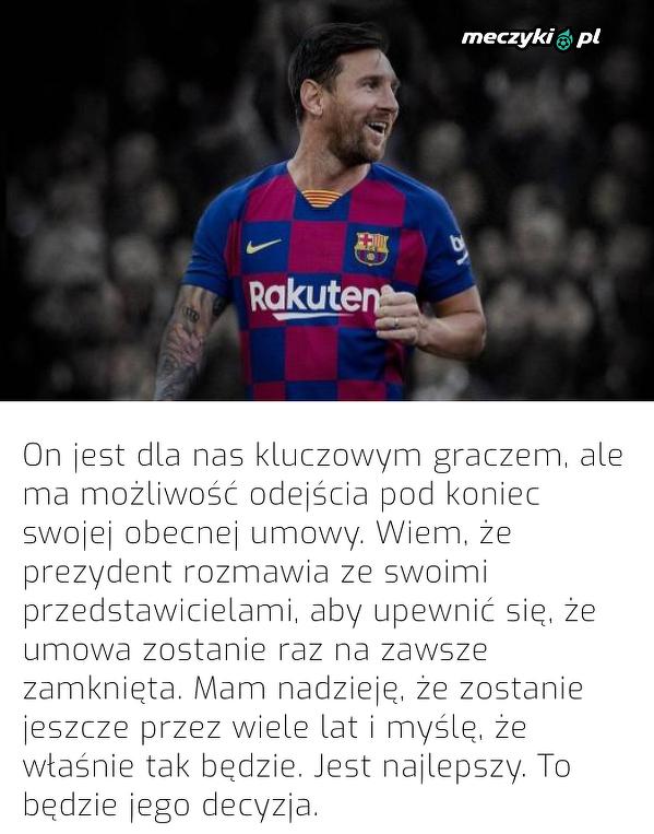 Abidal potwierdził, że Messi ma możliwość odejścia z Barcelony pod koniec kontraktu