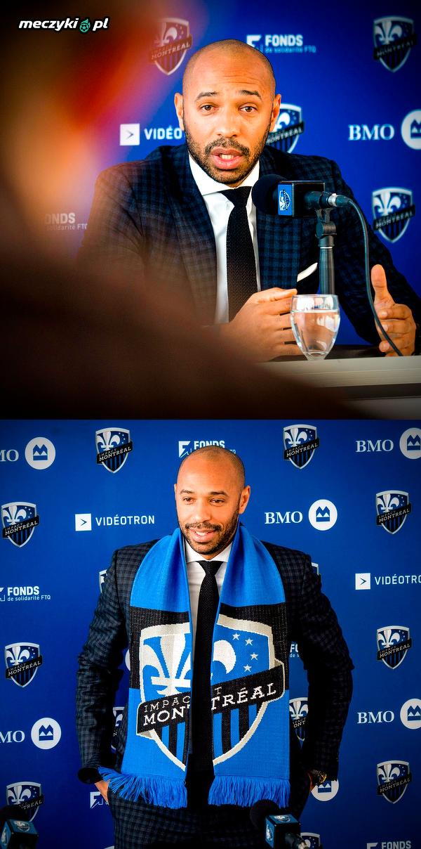 Thierry Henry odbył pierwszą konferencję prasową w nowym klubie