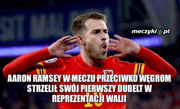 Świetny mecz w wykonaniu Ramseya