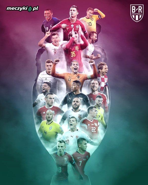 Oni zagrają na Euro 2020